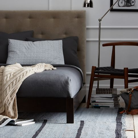 Simple Low Bed Frame in Chocolate from west elm | For the Home ...