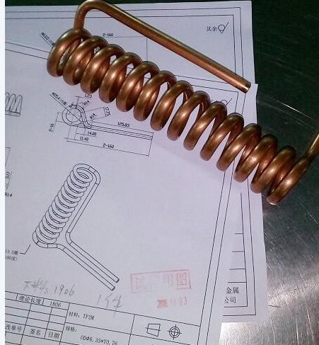 Custom Copper Coil Heat Exchanger Thermal Solution From Kaweller Heat Exchanger Copper Tubing Copper