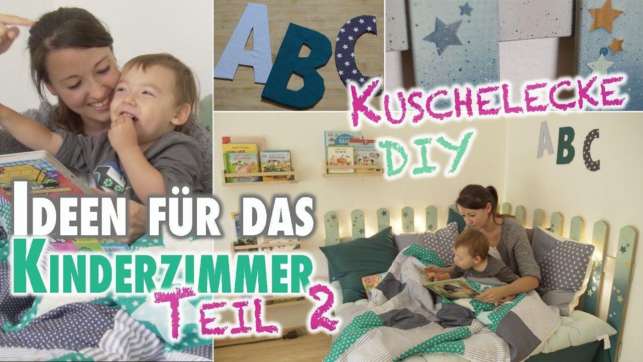 Vom babyzimmer zum kinderzimmer diy kuschelecke for Kuschelecke kinderzimmer junge