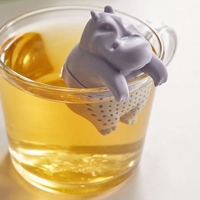 Un infuseur th hippopotame objet insolite insolite for Objet decoration hippopotame