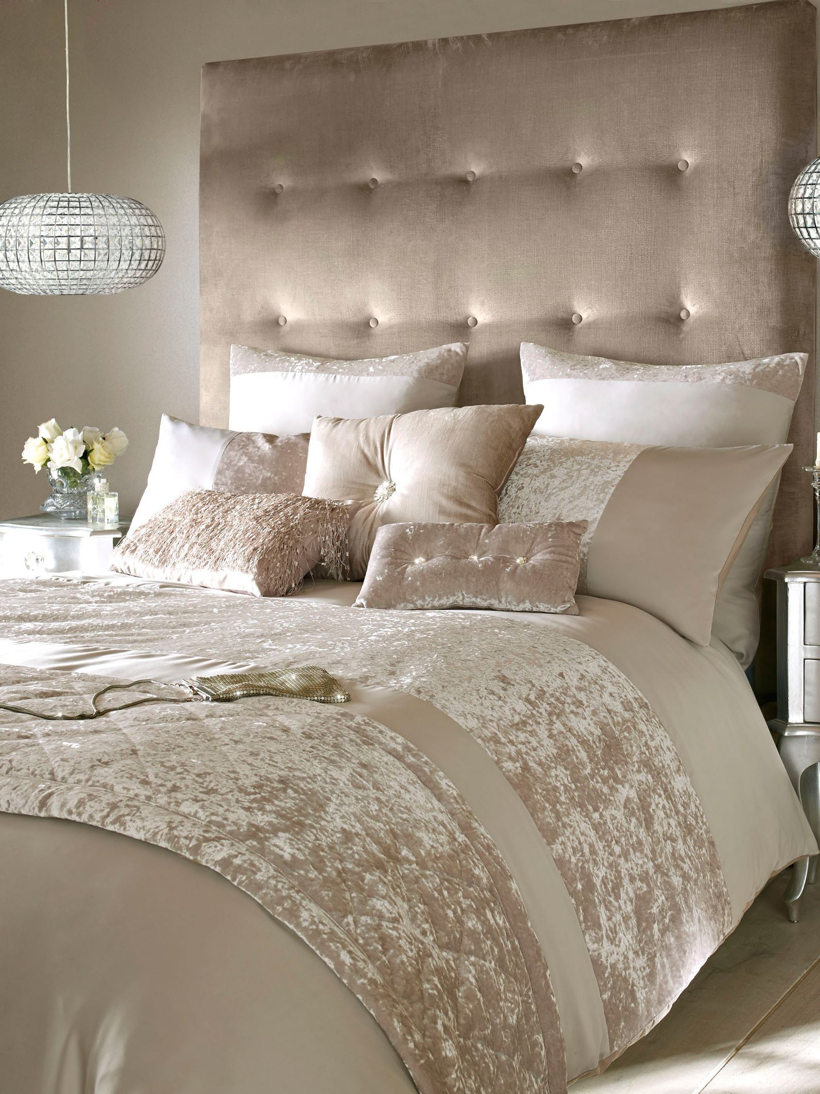 Kylie Minogue Crushed Velvet Housewife Pillowcase House Of Fraser
