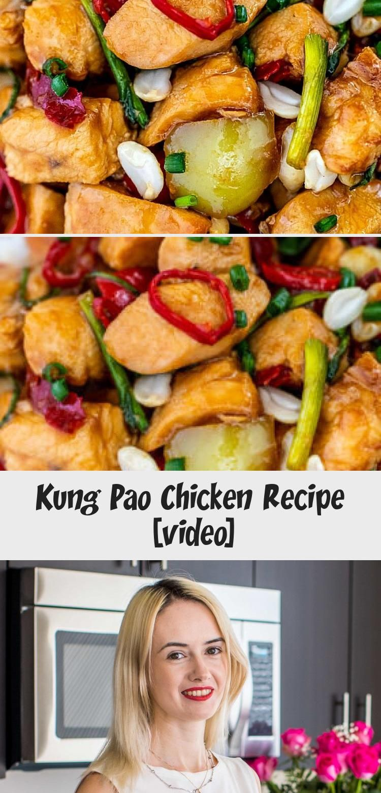 Kung Pao Chicken is a famous Chinese stir-fry dish that is crisp-tender and very easy to make at home! It has the perfect combination of salty, sweet and spicy flavor.   #AsianWithTattoos #AsianNoodles #AsianHairColor #AsianChicken #AsianWithBlueEyes