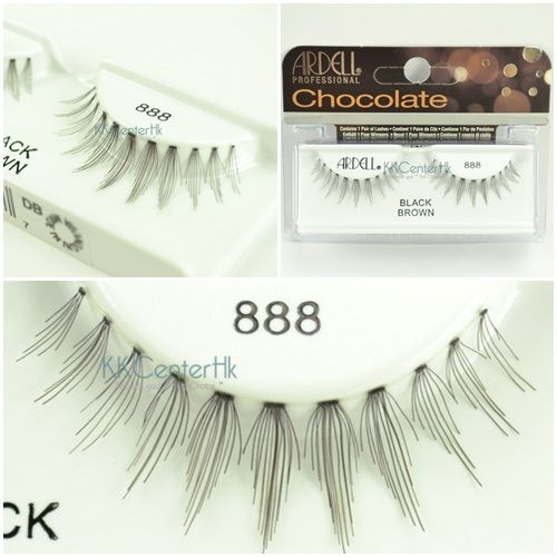 55e0724418f Ardell Chocolate Black Brown Collection lashes - 888   Lashes ...