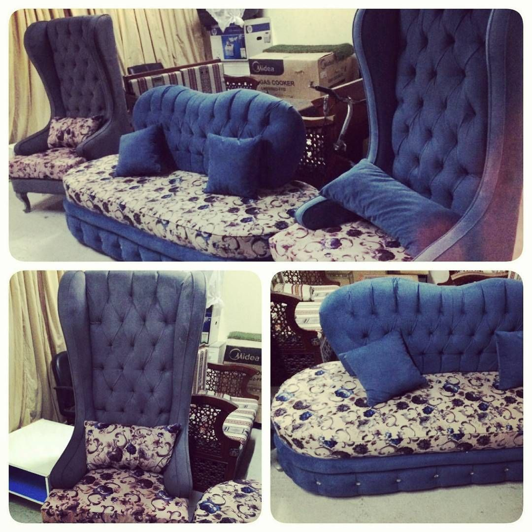 For Sale 2 Classic Chair With One Long Good Condition Price 240 Bd للبيع كراسي كلاسك مع كرسي طويل بحالة جدا ممتازة السعر 24 Furniture Home Decor Chair