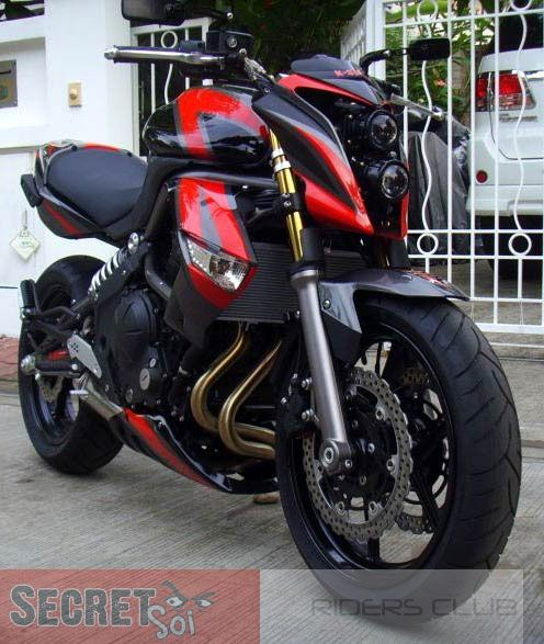 Kawasaki ER6 Modification