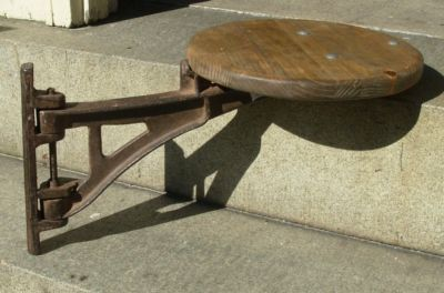 Image Detail For Vintage Industrial Factory Swing Arm Wall Mounted Stool Completed 184