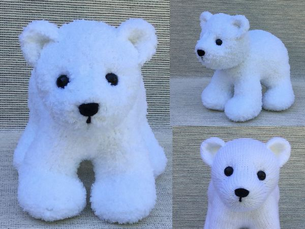 Knit Polar Bear Cub Knitting And Crotchet Patternsideas