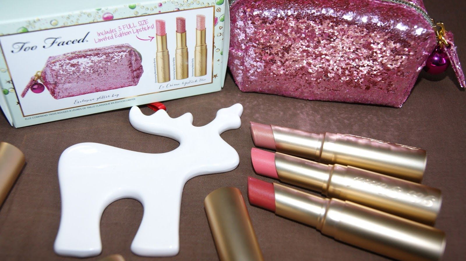 A Life With Frills: BEAUTY REVIEW: TOO FACED UNDER THE MISTLETOE GIFT ...