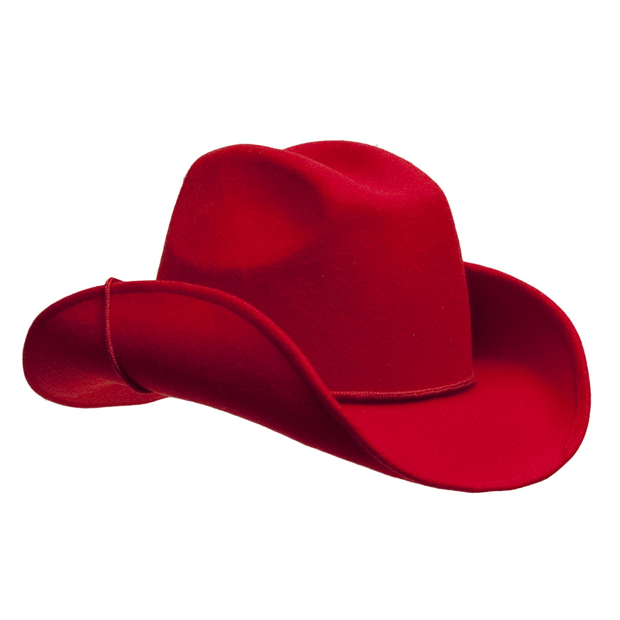 Women s Red Wool Cowboy Hat with Shapeable Brim at Amazon Women s Clothing  store  70d27caacae