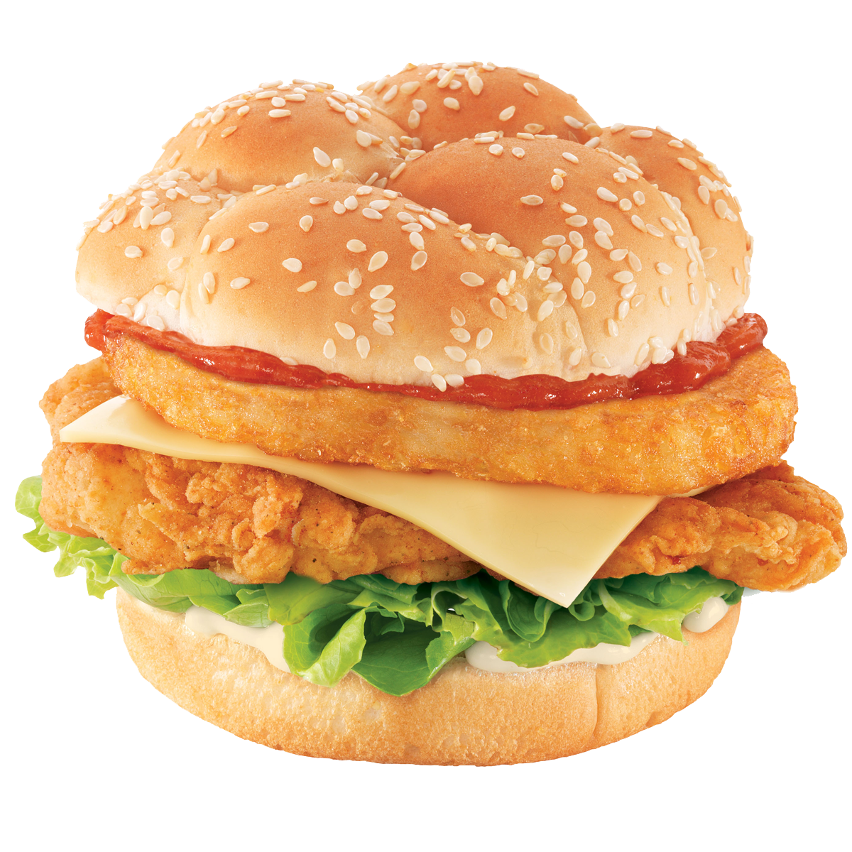 Zinger Tower Burger (Sorry Just Cant Resist It)