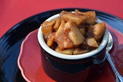 Slow Cooker Caramelized Apples