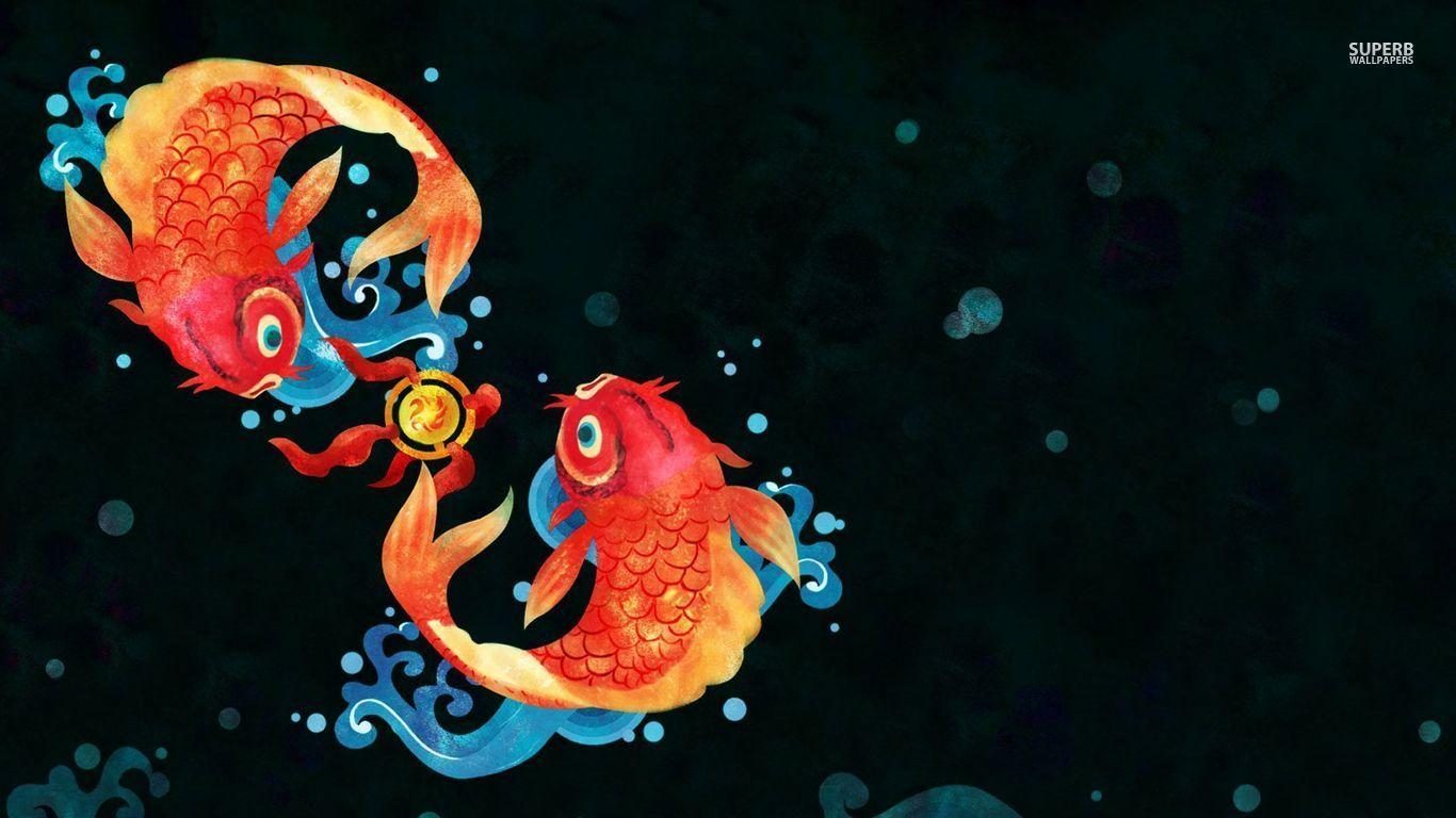 Koi Fish Wallpapers Wallpaper | HD Wallpapers | Pinterest | Fish ...