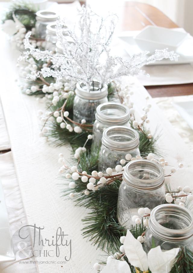 my christmas home tour deco de table nouveaut et table. Black Bedroom Furniture Sets. Home Design Ideas