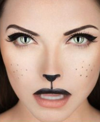 65 Halloween Makeup Ideas to Try This Year | Rabbit, Makeup and ...