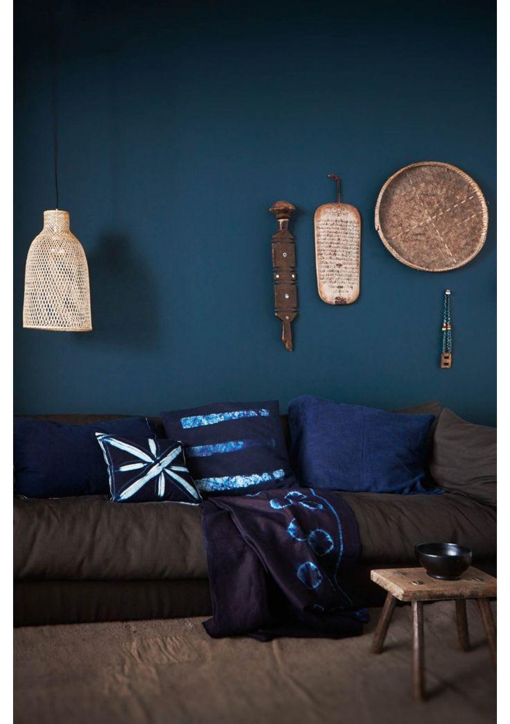 Deco ethnique bleu for Decoration et accessoires