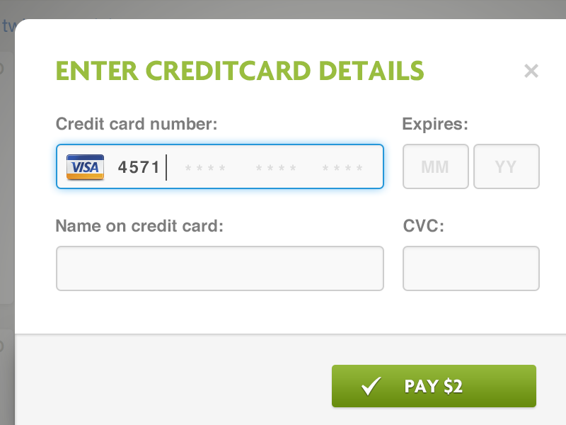 Payment Form  Ux Design And Ui Design