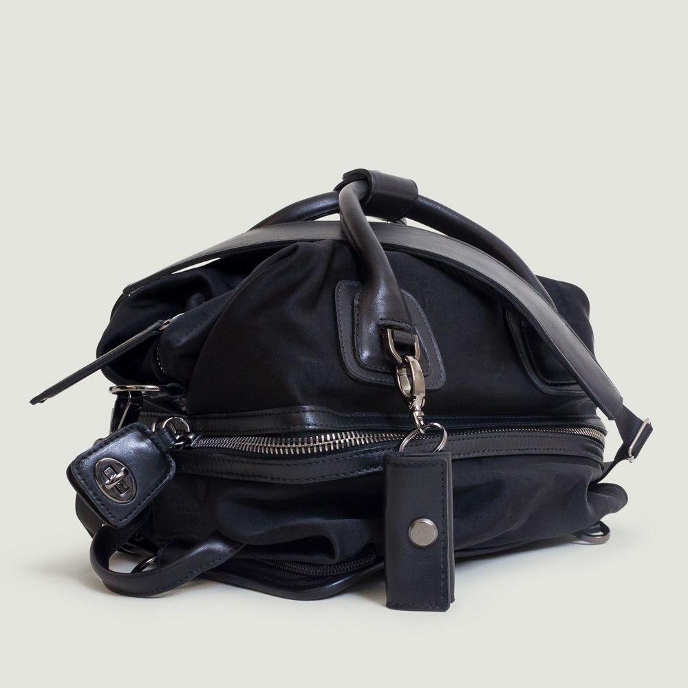 456b4018b1f The Studio Bag -gunmetal- the most desired gym to street handbag by CARAA  SPORT www.caraasport.com