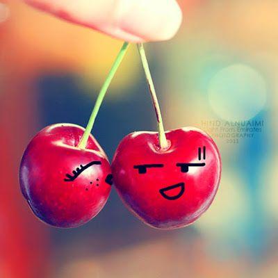 صور قلوب حب 2020 خلفيات قلوب رومانسية Cherry Christmas Ornaments Funny Fruit