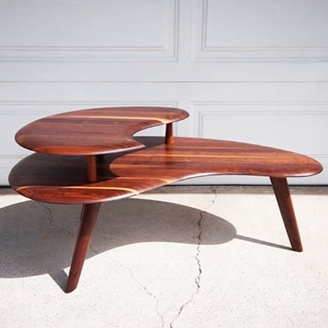 Image Result For Mcm Bissman Kidney Shaped 2 Tier Coffee Table