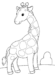Image Result For Giraffe Outline Drawings For Kids Giraffe Coloring Pages Animal Coloring Pages Giraffe Colors