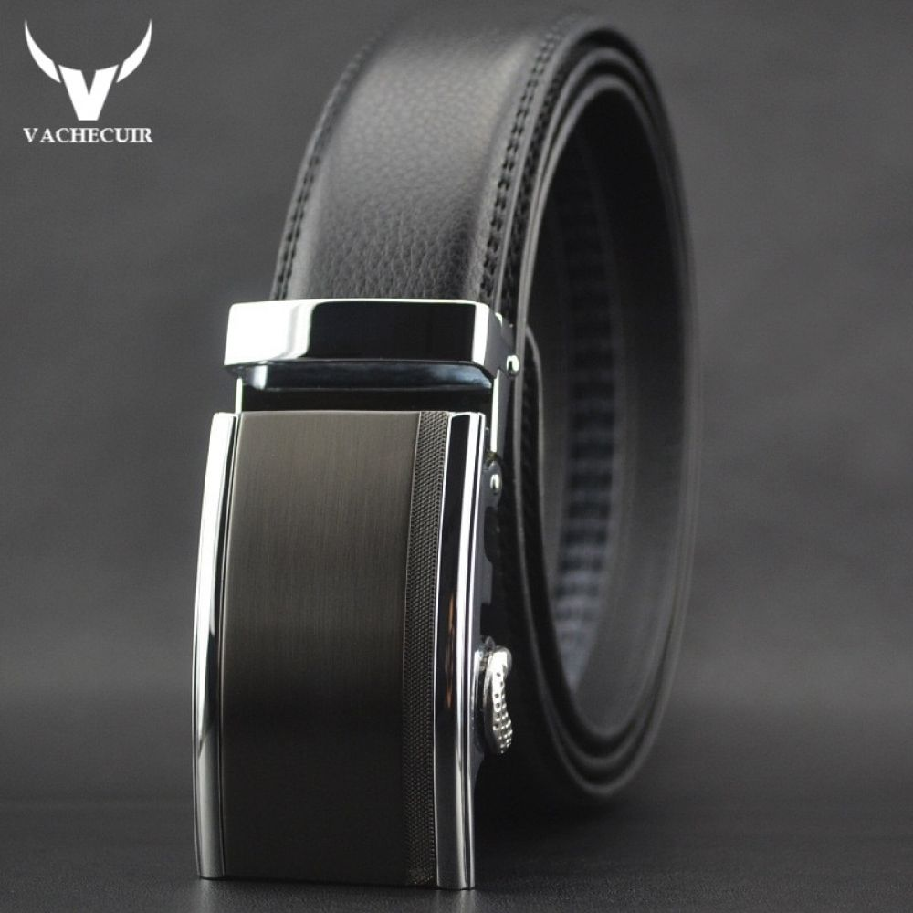 Alloy BuckleMen/'s leather belts for suits or jeans Genuine Leather Belt