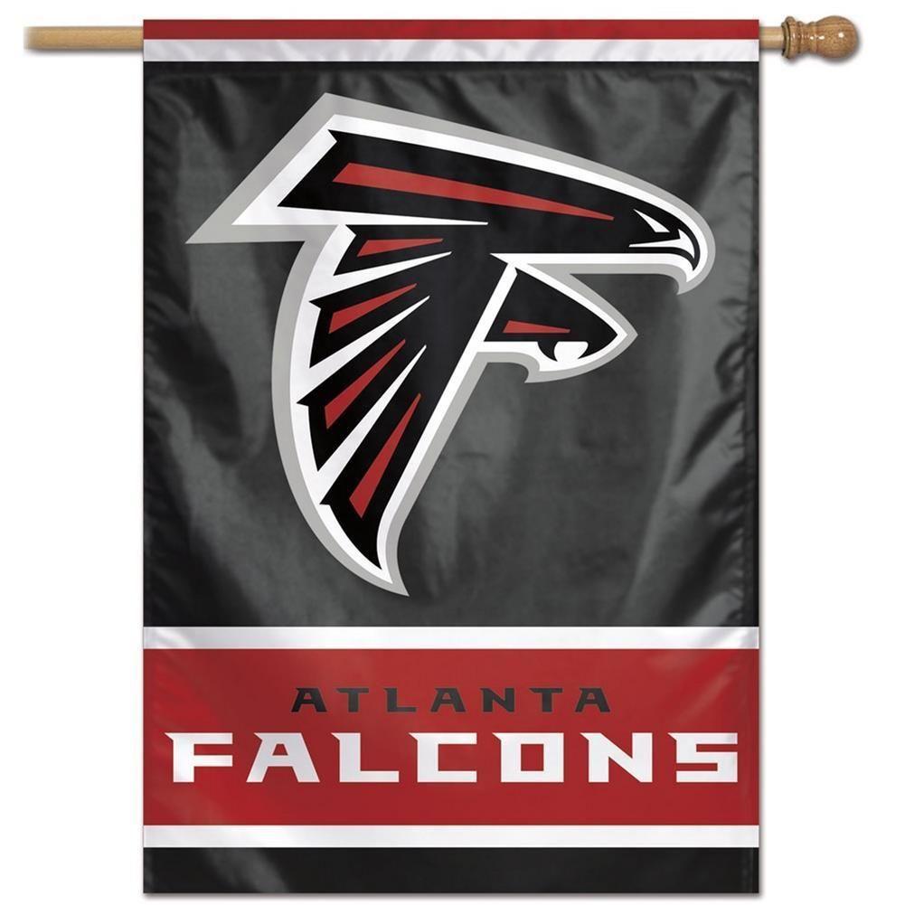 Atlanta Falcons Flag 28 X 40 Vertical House Banner Atlanta Falcons Flag Atlanta Falcons Home Logo