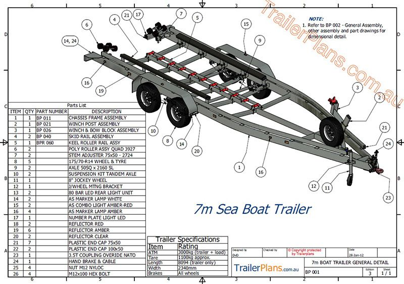 Amazing Boat Trailer Plans Remorque Utilitaire In 2019 Boat Plans Wiring Digital Resources Xeirawoestevosnl