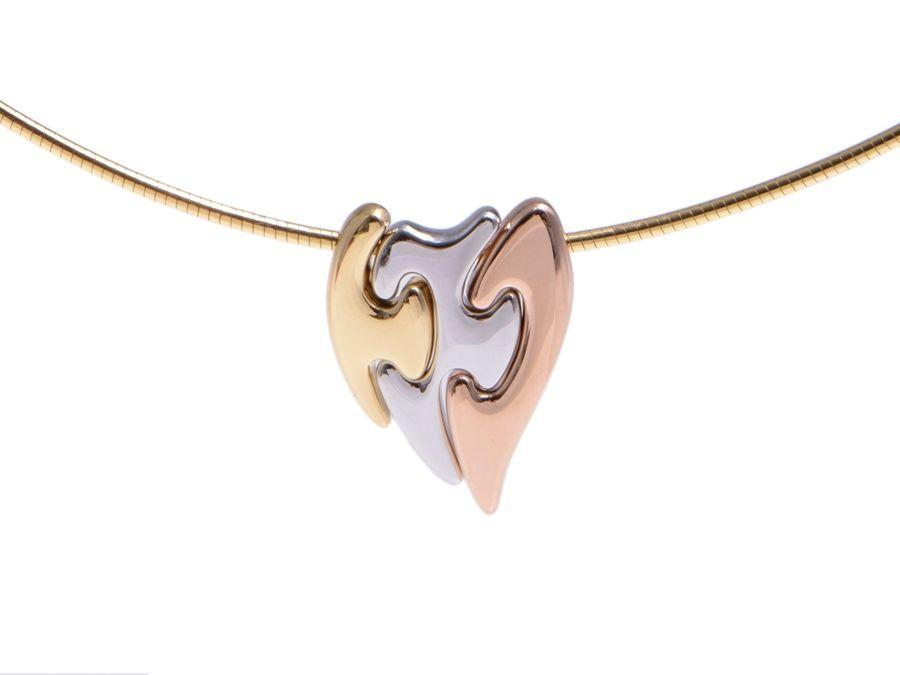 GEORG JENSEN Fusion necklace Tri tone Gold Gold Fashion jewelry