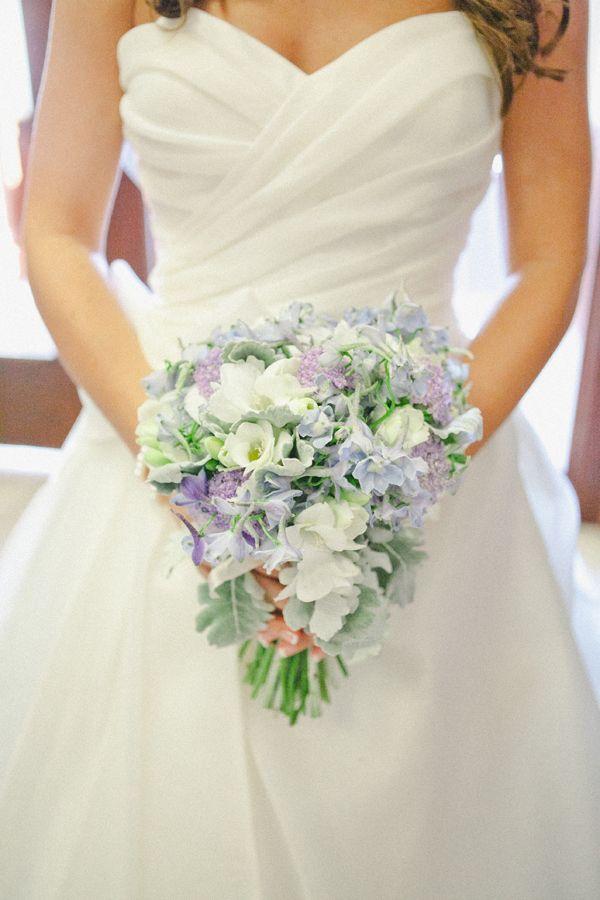 Classic Ballroom Wedding by Caroline Joy | Pastel blue, Pretty ...