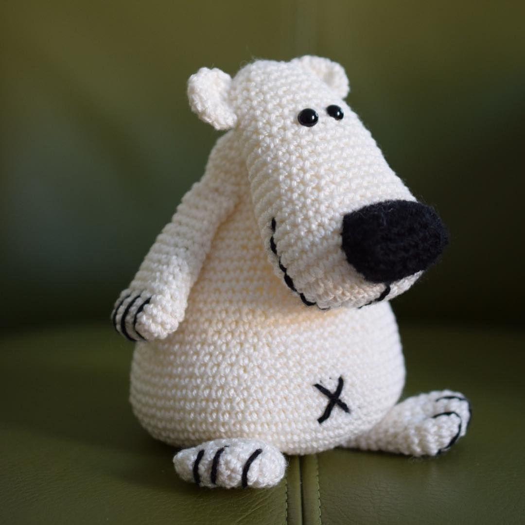 crochet #haken #häkeln #Haroldijsbeer #woolytoons #amigurumi ...