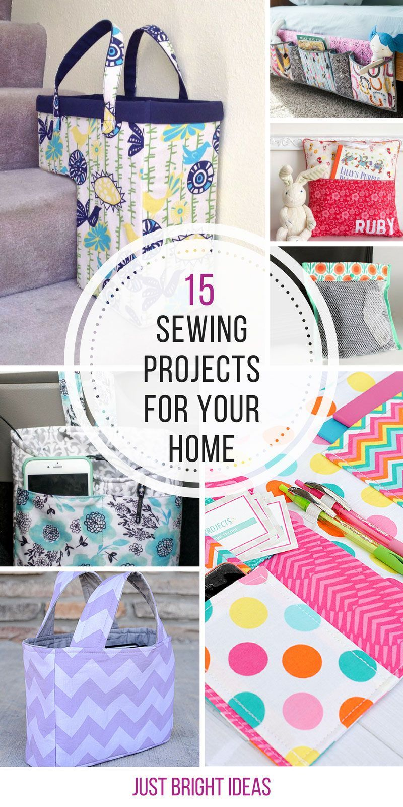 So many great sewing projects for the home - Thanks for sharing ...