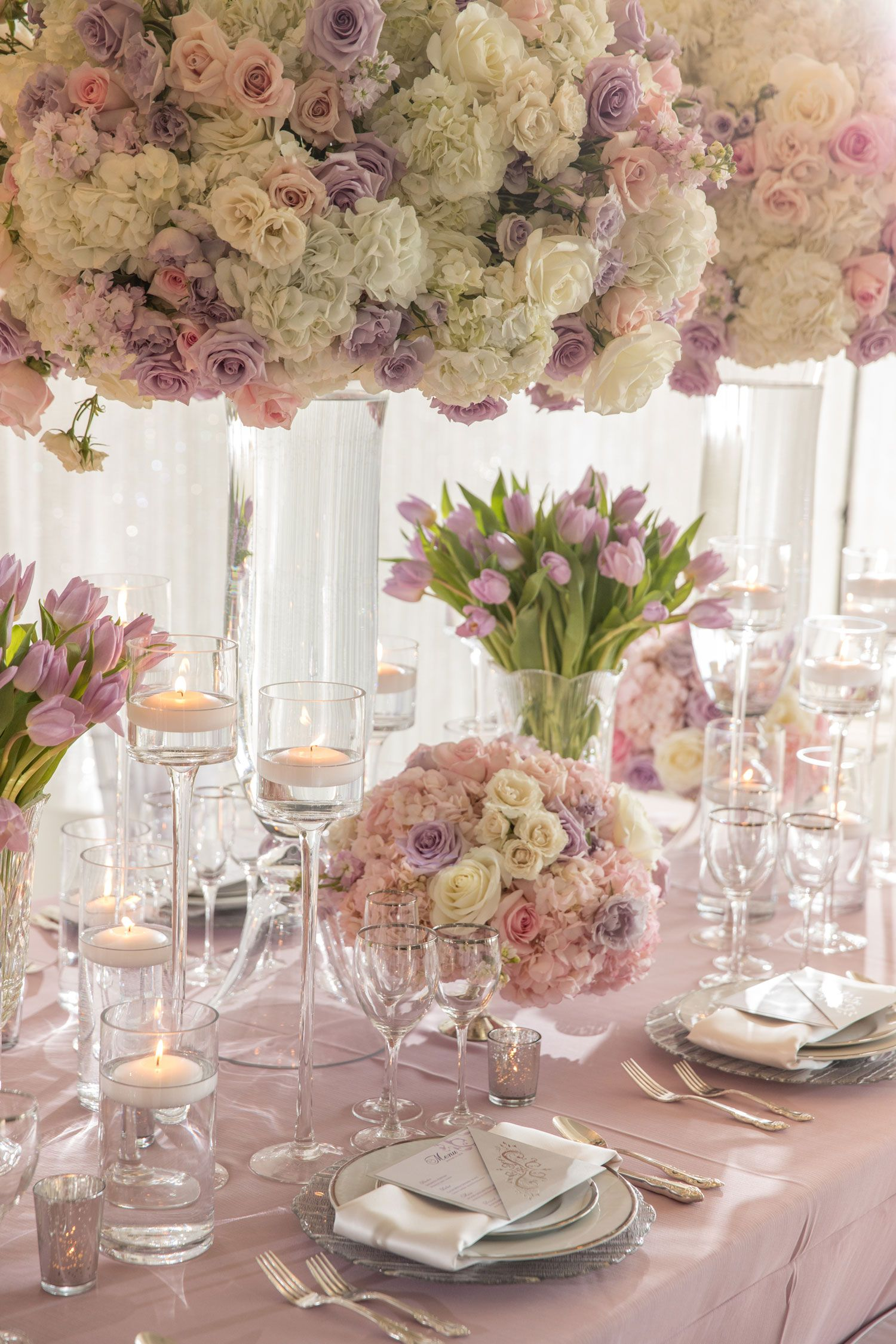 Styled Spring Wedding Shoot With Lavender, Blush & Silver D