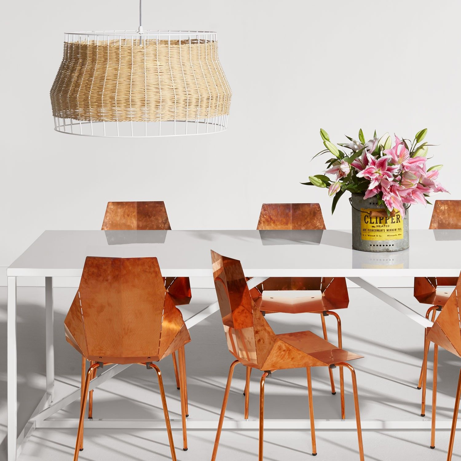 Copper Real Good Chair By Blu Dot Dining Chair At @yliving