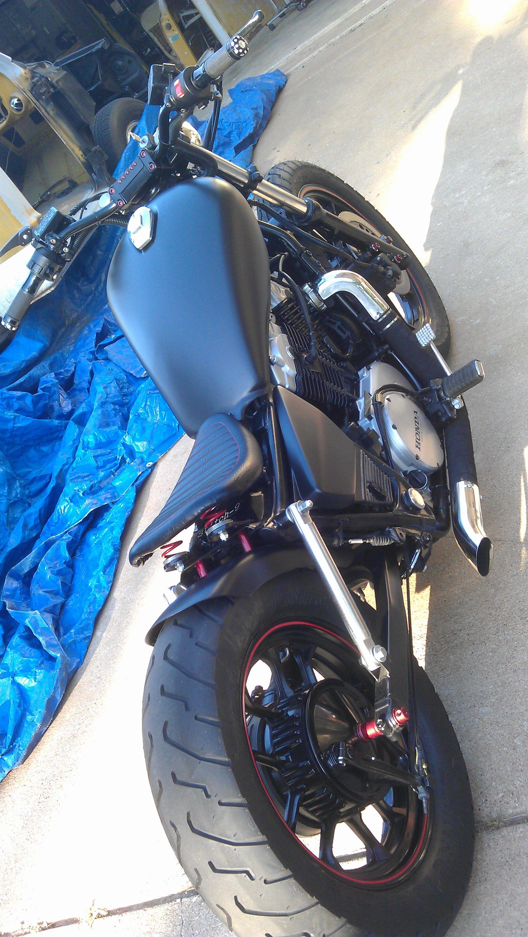 Pin By Ismael Mancilla On Bikes Honda Shadow Honda Shadow Bobber Honda Bobber