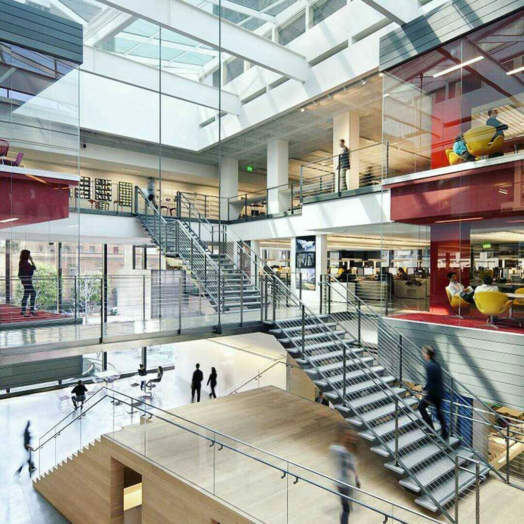 roles for architects interior designers on commercial office