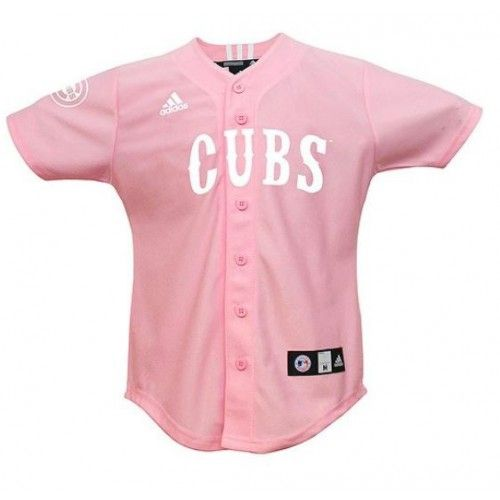 reputable site fc0ae f162e WOW only $17! MLB Chicago Cubs Toddler Pink Jersey by Adidas ...