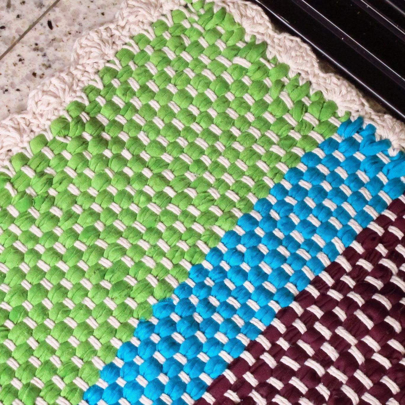 Rag Rug T Shirts Crochetholic Hilariafina Pinterest