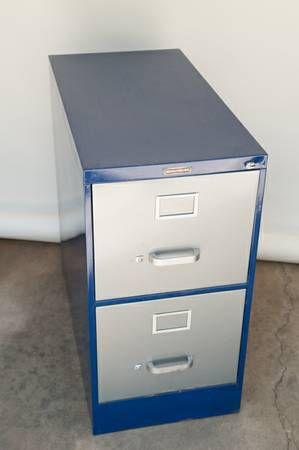 Mcdowell Craig Steel 2 Drawer Vertical Filing Cabinet Letter Sold Filing Cabinet Vintage Items Cabinet