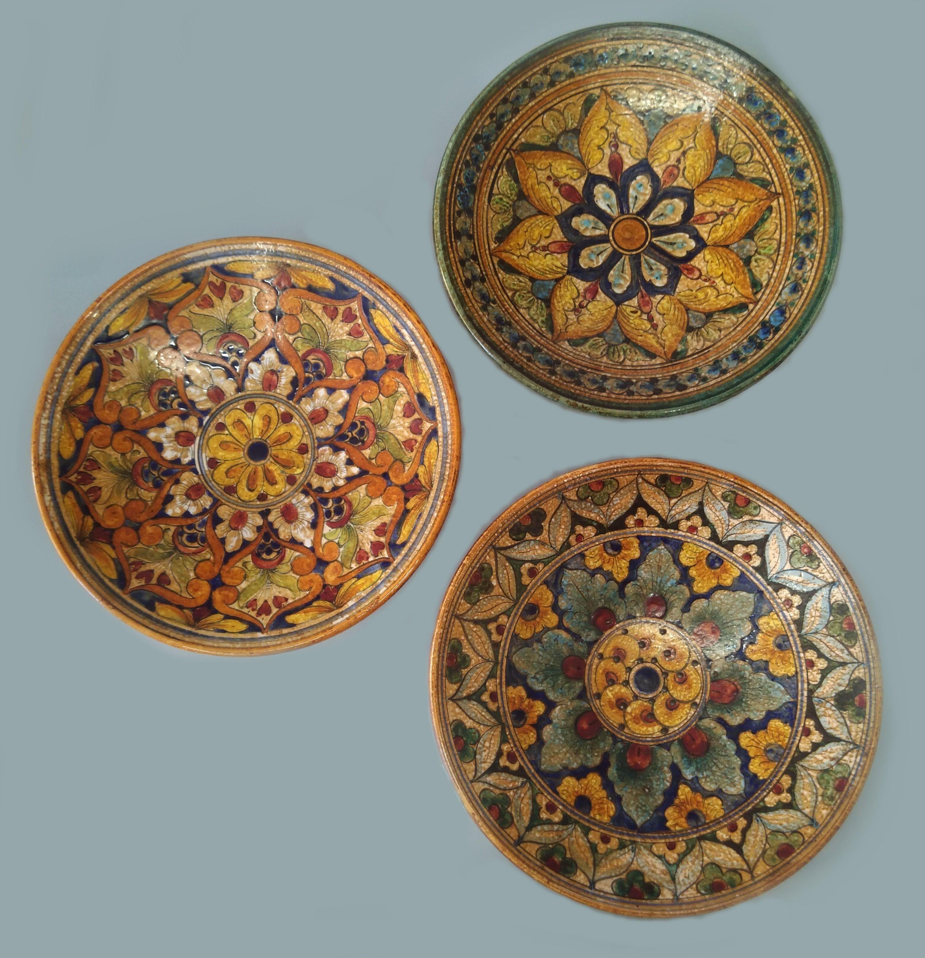 Piatti In Ceramica Per Bambini.Piatti Decorativi Ceramica G Giotto Mercatino Sulla