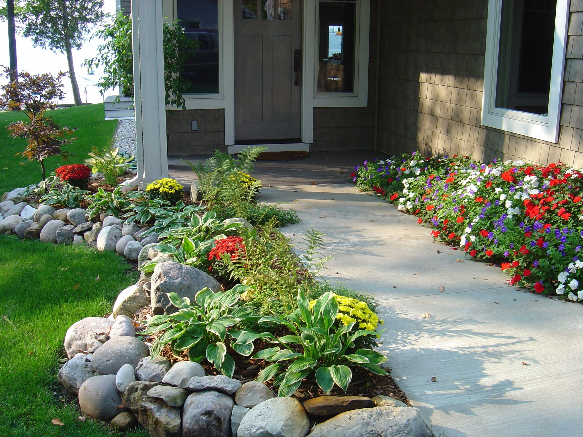 northern michigan residence gardens