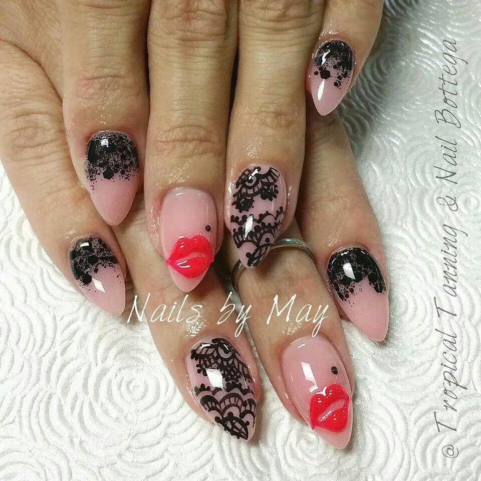 Marilyn monroe inspired nails | nails | Pinterest