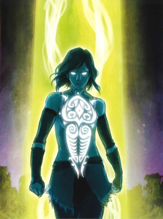 Concept For The Cover Of The Legend Of Korra The Art Of The