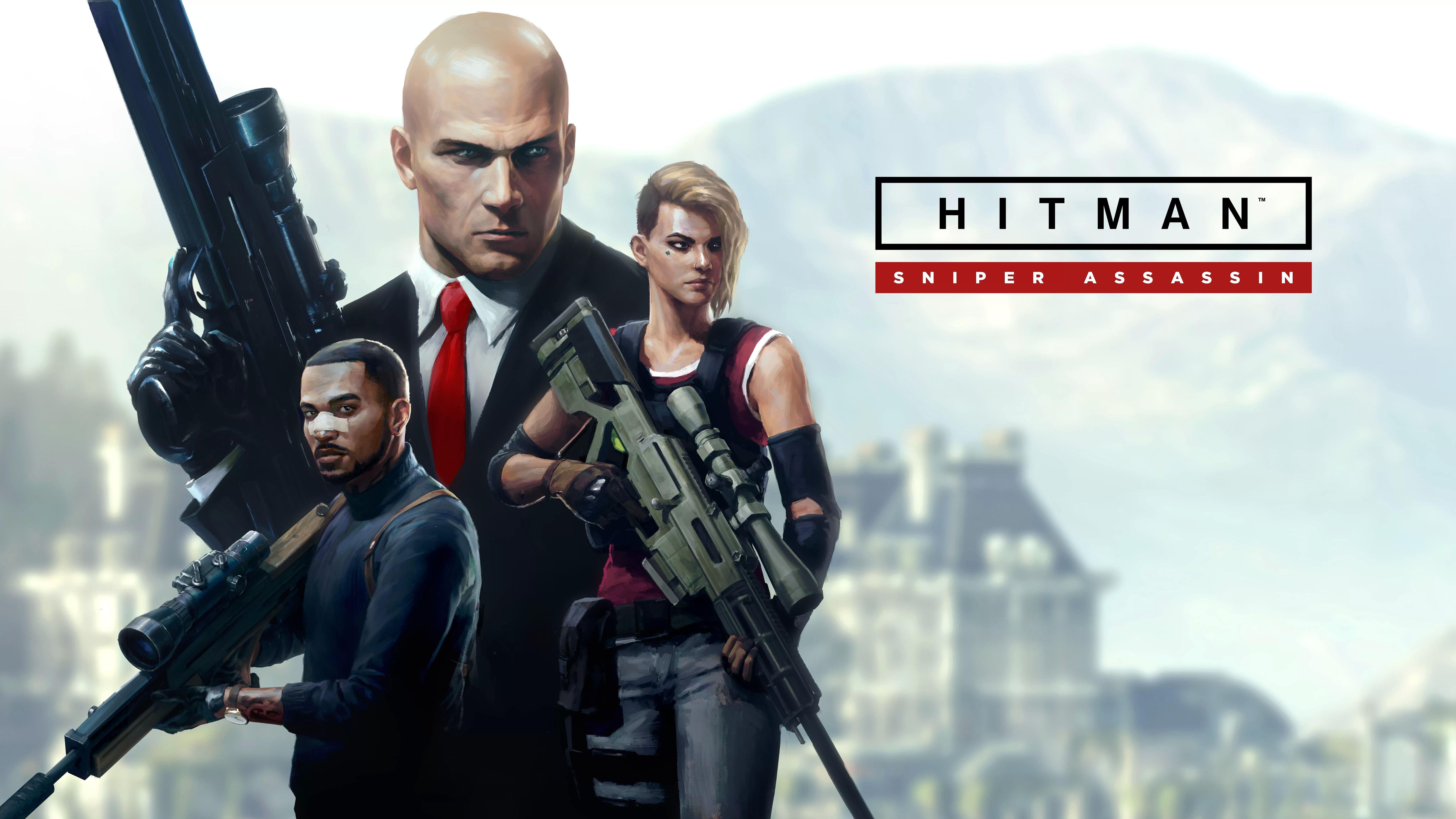 Hitman 2 Sniper Assassin 8k Games 2018 Games Wallpapers 4k