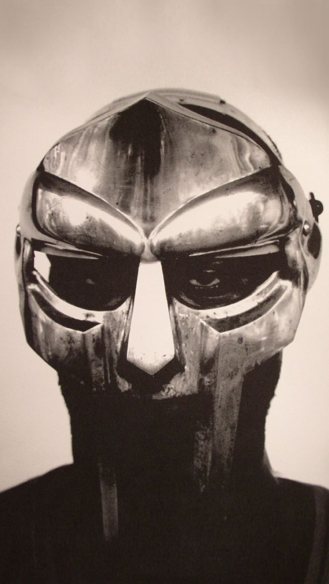 MF DOOM iPhone 5 Wallpaper | Mobile Wallpapers in 2019 | Rap albums