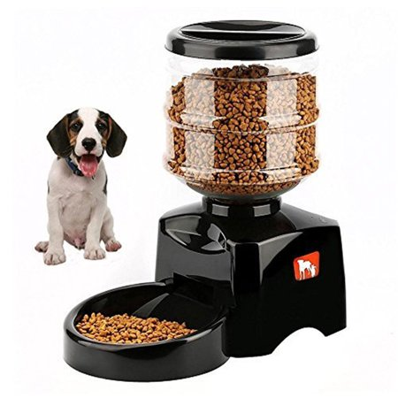 Automatic Feeder Large Automatic Cat Feeder Electric Pet Dry Food