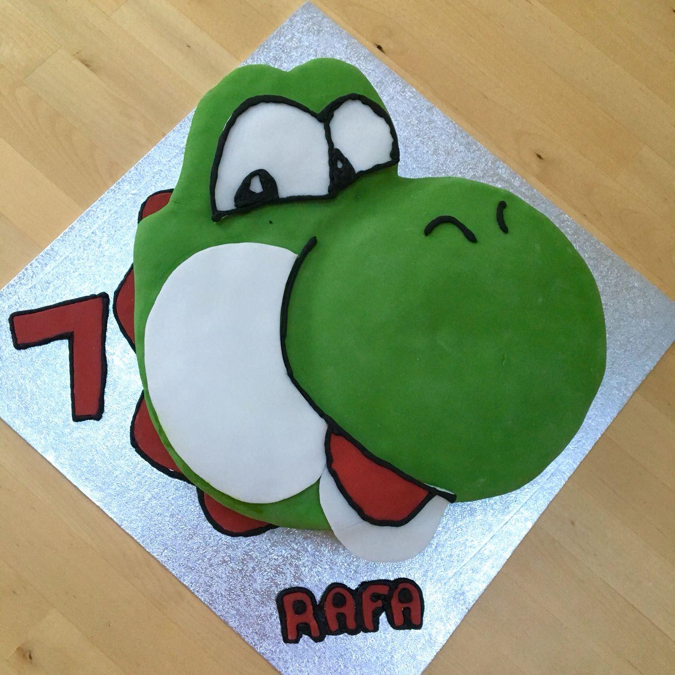 Yoshi Birthday Cake Super mario party, Mario party, Birthday