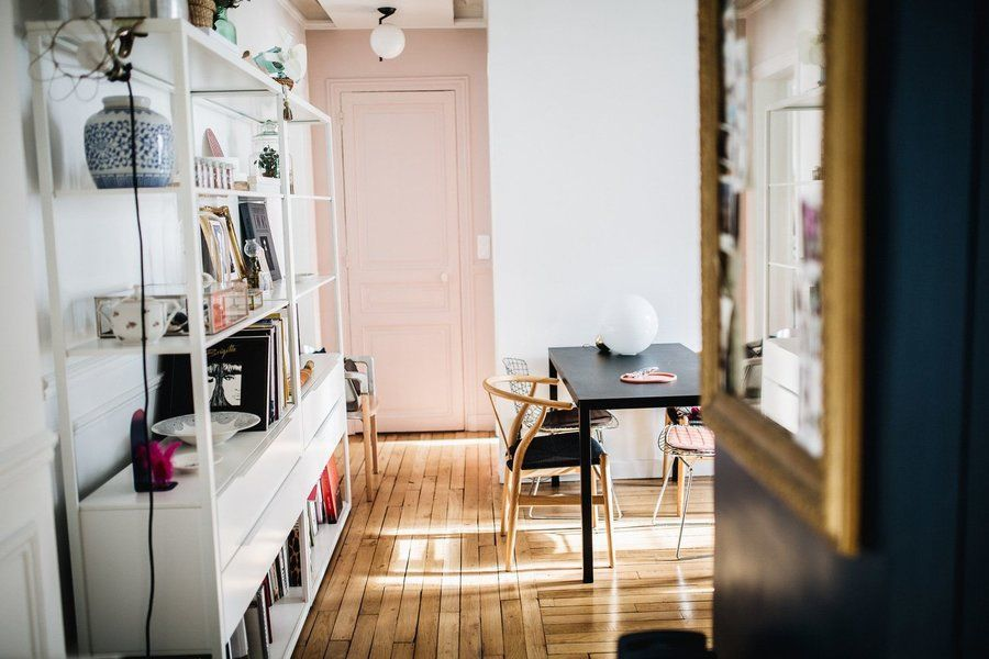 Willkommen in Paris Zu Besuch im 64-qm-Apartment der Designer