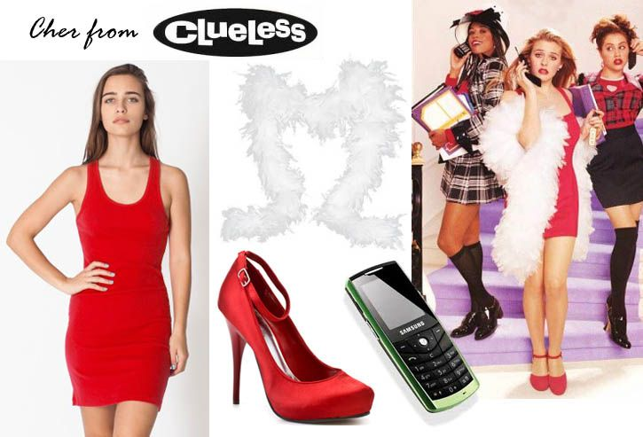 DIY Cher from Clueless Costumes! Pinterest Clueless costume - ideas for easy halloween costumes