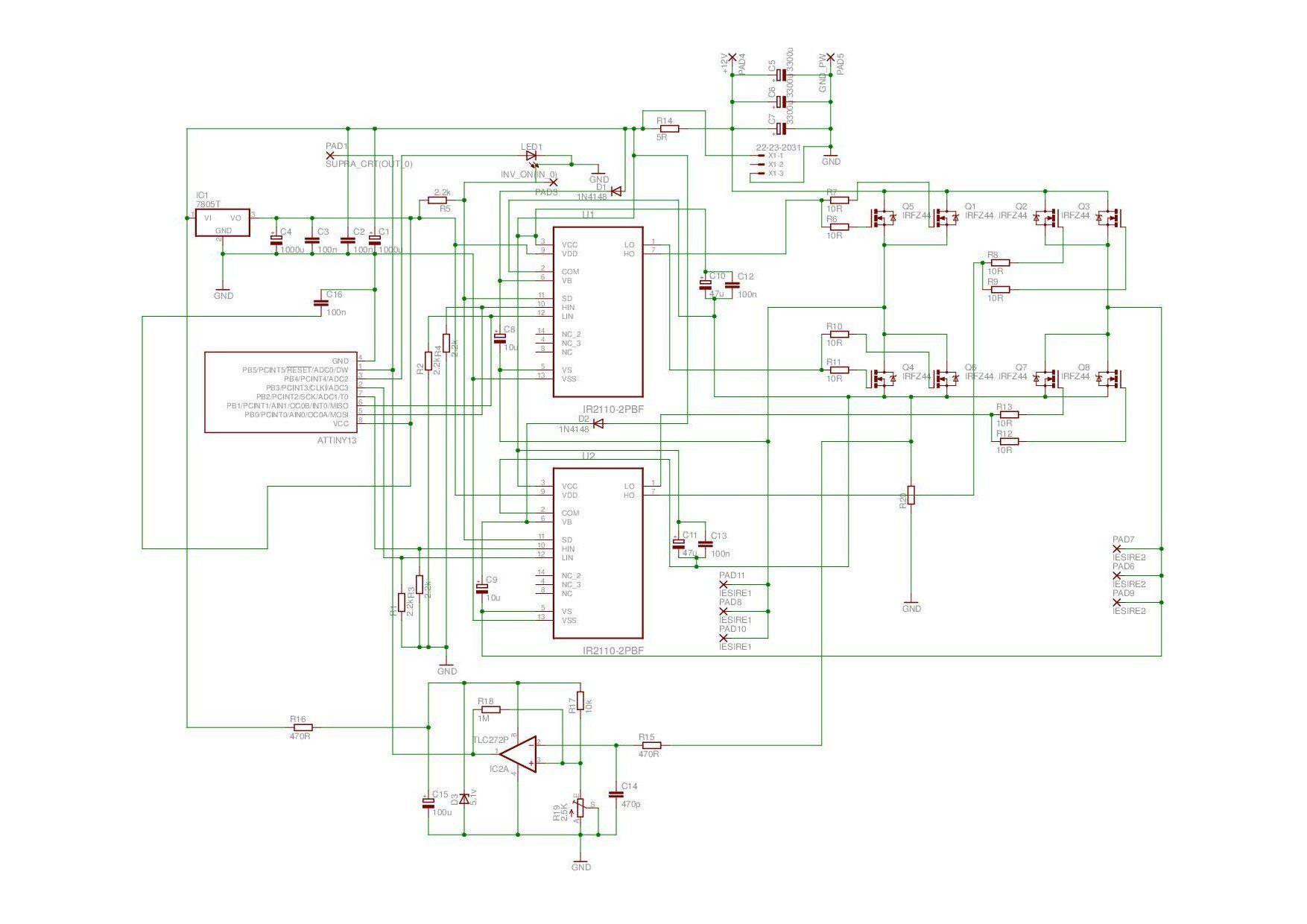 Pure Sine Inverter Schematic Sne Invertor Pinterest Wave Generator Circuit Diagram