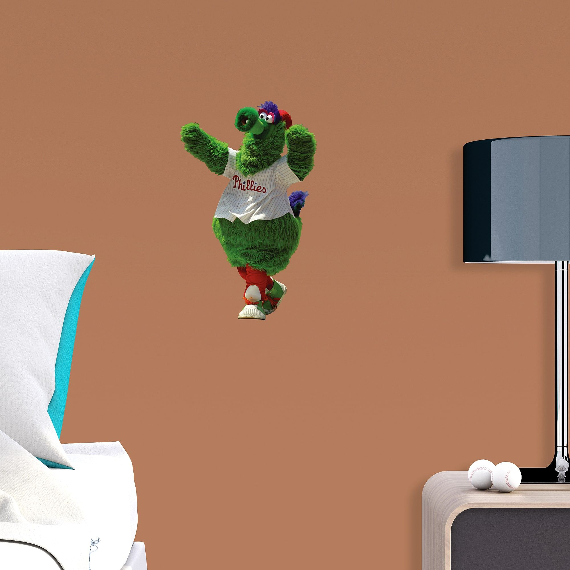 Phillie Phanatic Large Officially Licensed MLB Removable